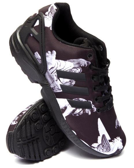 Adidas - Men Black Z X Flux Print - $90.00