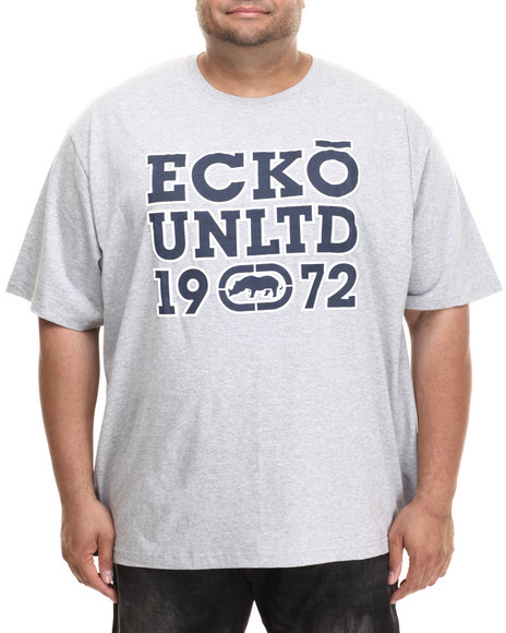 Ecko - Men Grey Block 72 T-Shirt (B&T)