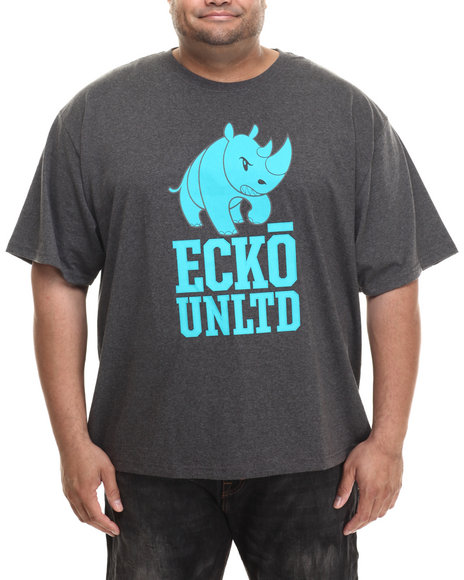 Ecko - Men Charcoal Jurassic Lbr T-Shirt (B&T)