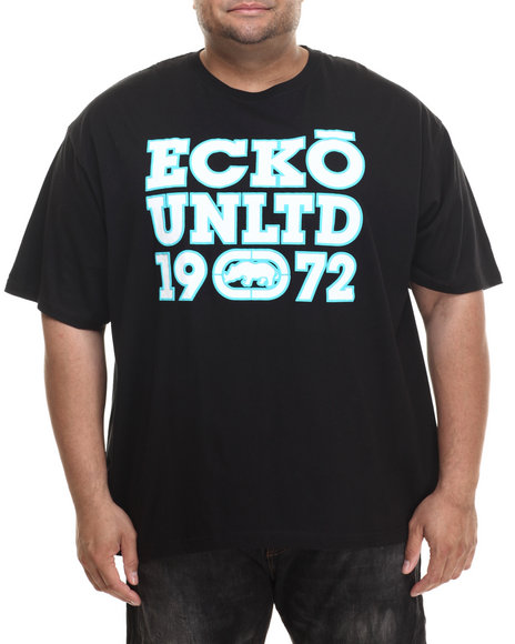 Ecko - Men Black Block 72 T-Shirt (B&T) - $21.99