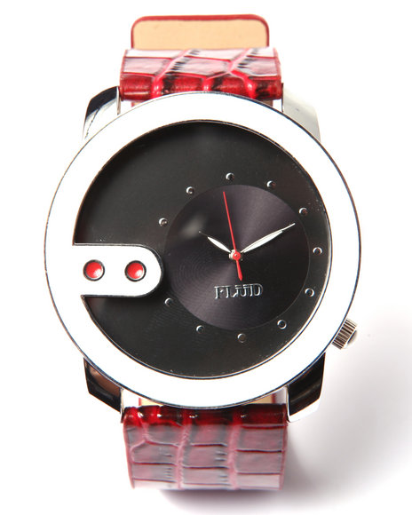Flud Watches Men The Exchange (Stingray Embosed Edition) Watch Black