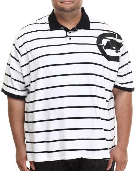 Ecko - Men White Armpit Stripe Polo (B&T)