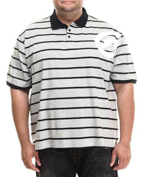 Ecko - Men Grey Armpit Stripe Polo (B&T)