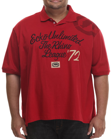 Ecko - Men Red Rhino League Polo (B&T)