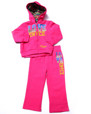 Sets - 2 PC LOVE ENYCE FLEECE SET (2T-4T)