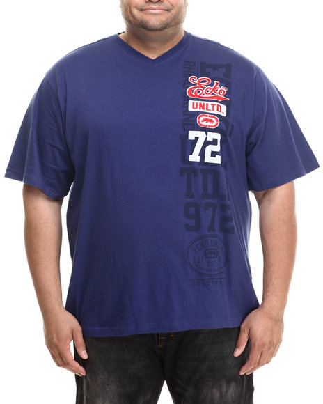 Ecko - Men Navy Collegiate Chest T-Shirt (B&T)