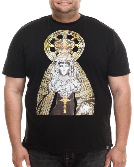 Eight 732 - Men Black Stuntin T-Shirt (B&T)