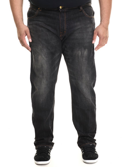 Eight 732 - Men Black Hustle Denim Jean (B&T)