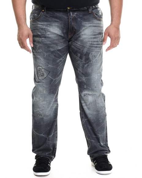 Eight 732 - Men Medium Wash Amazing Denim Jean (B&T)