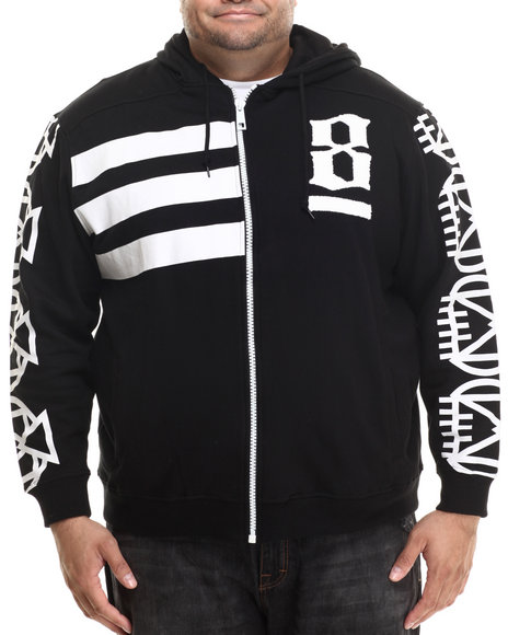 Eight 732 - Men Black 8 Million Ways Hoodie (B&T)