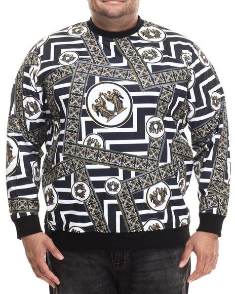 Eight Black Pullover Sweatshirts