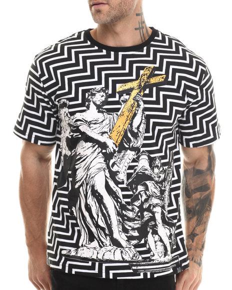 Eight 732 - Men Black Amazing T-Shirt