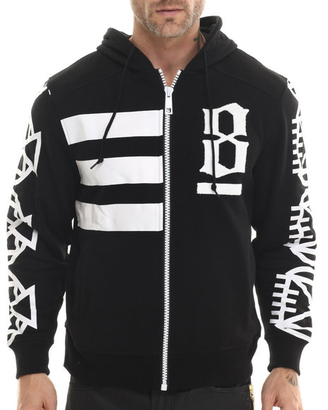 Eight 732 - Men Black 8 Million Ways Hoodie