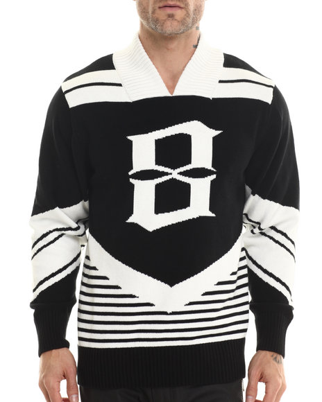 Eight 732 - Men Black 87Team Sweater