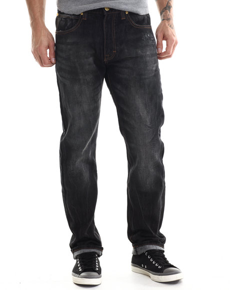 Eight 732 - Men Black Hustle Denim Jean