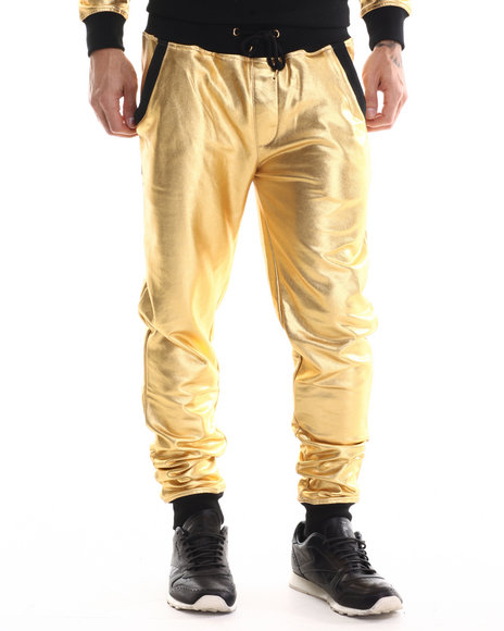 Eight 732 - Men Gold Stuntin Sweatpant