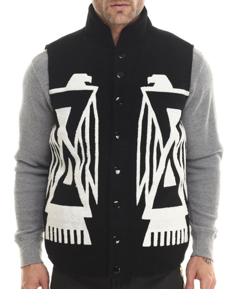 Eight 732 - Men Black Falcon Vest