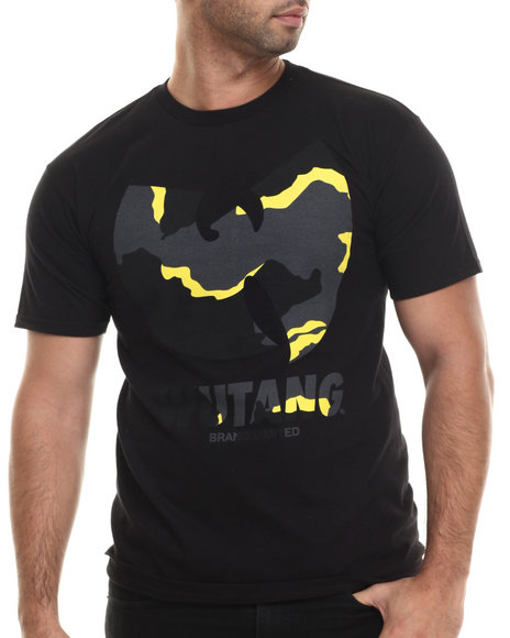 Wu-Tang Limited - Men Black Wtb Camo T-Shirt