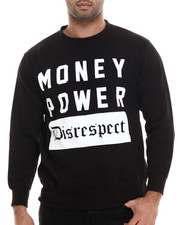 Graf-X Gallery - Money Power Disrespect Crewneck Sweatshirt