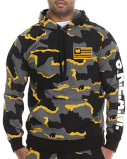 Wu-Tang Limited - Cream Camo Pullover Hoodie