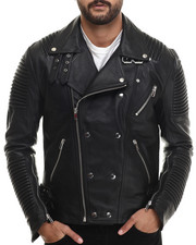 Outerwear - Hot Shot Genuine Leather Jacket