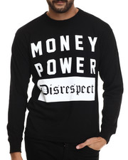 Graf-X Gallery - Money Power Disrespect L/S Tee