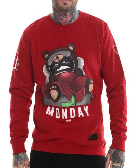 Graphic Crew Neck Sweatshirts