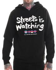 Men - Streets Pullover Fleece Hoodie