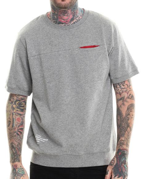 Lrg - Men Grey On Dex S/S Sweatshirt