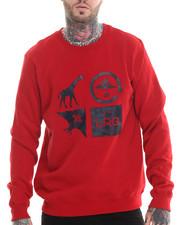 Men - Logo Cluster Crew Sweatshirt