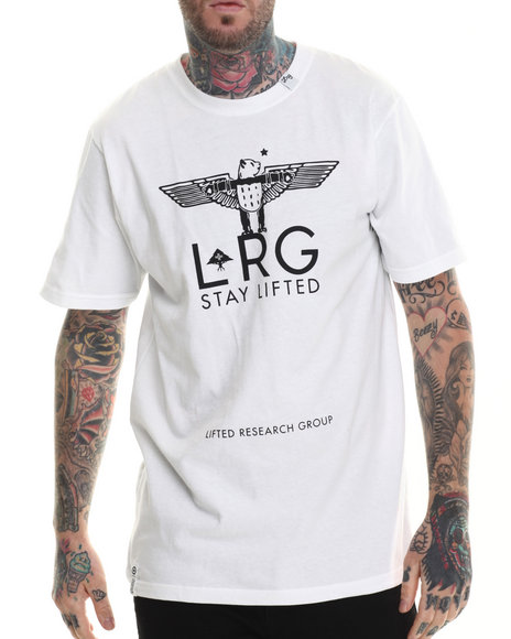 LRG - Men White High Panda T-Shirt