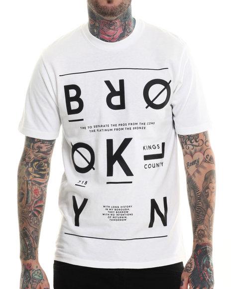 Rocawear Blak - Men White S/S Bk Way Tee - $19.99