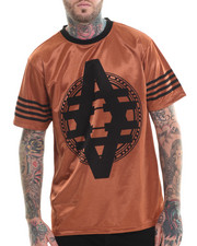 Men - Copper metallic S/S Tee