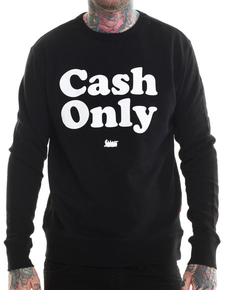 Bgrt - Men Black Cash Sweatshirt