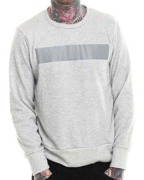 Eptm. - Men Grey Day Runner Crewneck Sweatshirt - $24.99