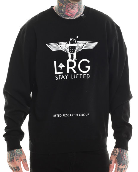 Lrg - Men Black High Panda Sweatshirt