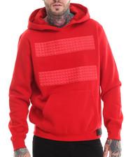 Men - Studs Pullover Fleece Hoodie