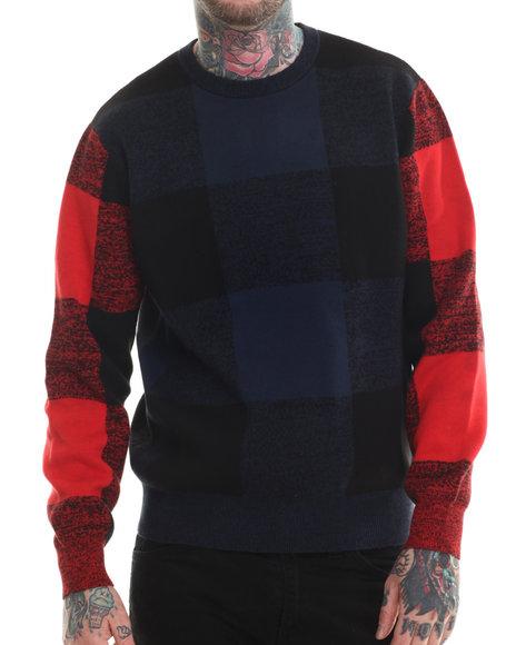 Rocawear Blak Grey Pullover Sweatshirts