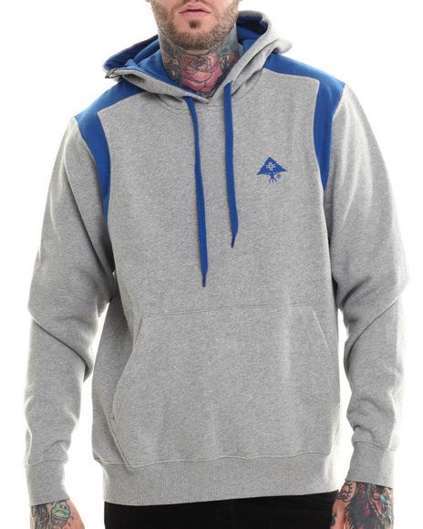 Lrg Grey Hoodies