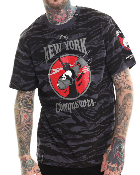 LRG - Men Camo Stay Trap New York T-Shirt