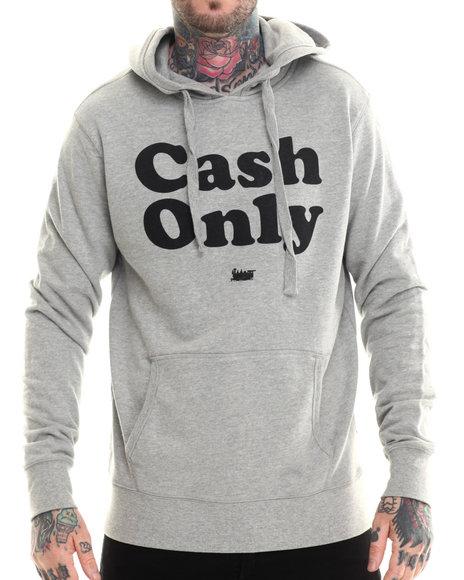 Ur-ID 207225 BGRT - Men Grey Cash Hoodie