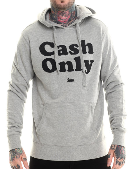 Bgrt - Men Grey Cash Hoodie