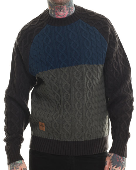 Lrg - Men Navy Chroncordia Sweater - $52.99