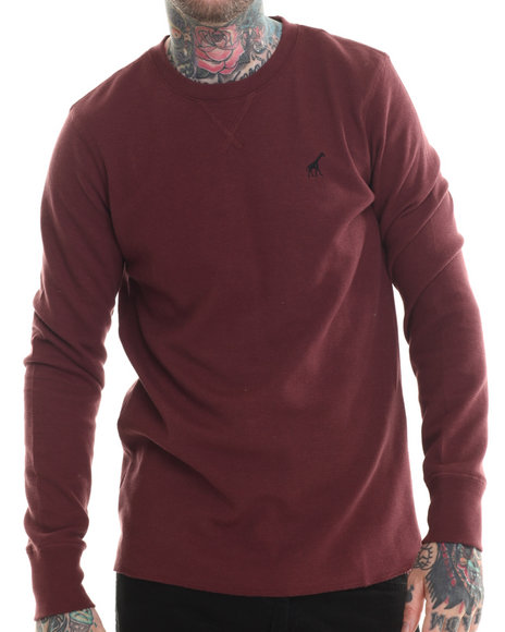 Lrg - Men Maroon Research Collection Termal