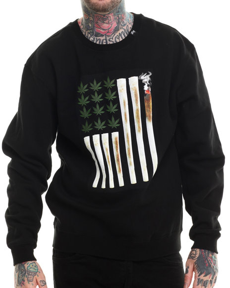 Ur-ID 207254 LRG - Men Black Joint Chiefs Of Staff Sweatshirt