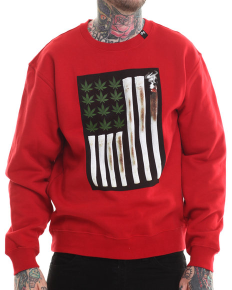 Lrg - Men Red Joint Chiefs Of Staff Sweatshirt - $30.99