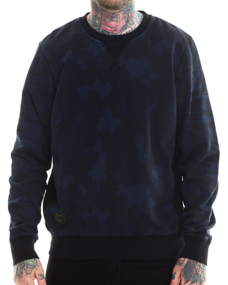 Lrg - Men Navy Body Bagger Sweatshirt - $37.99