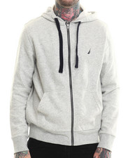Hoodies - Sueded Fleece Zip Hoodie