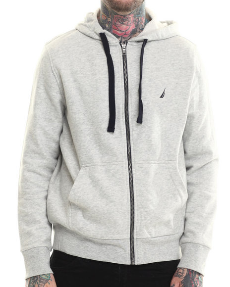 Nautica Grey Hoodies