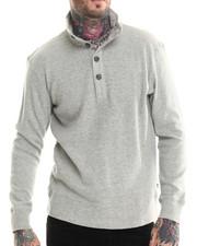 Men - Box Waffle L/S Sweater